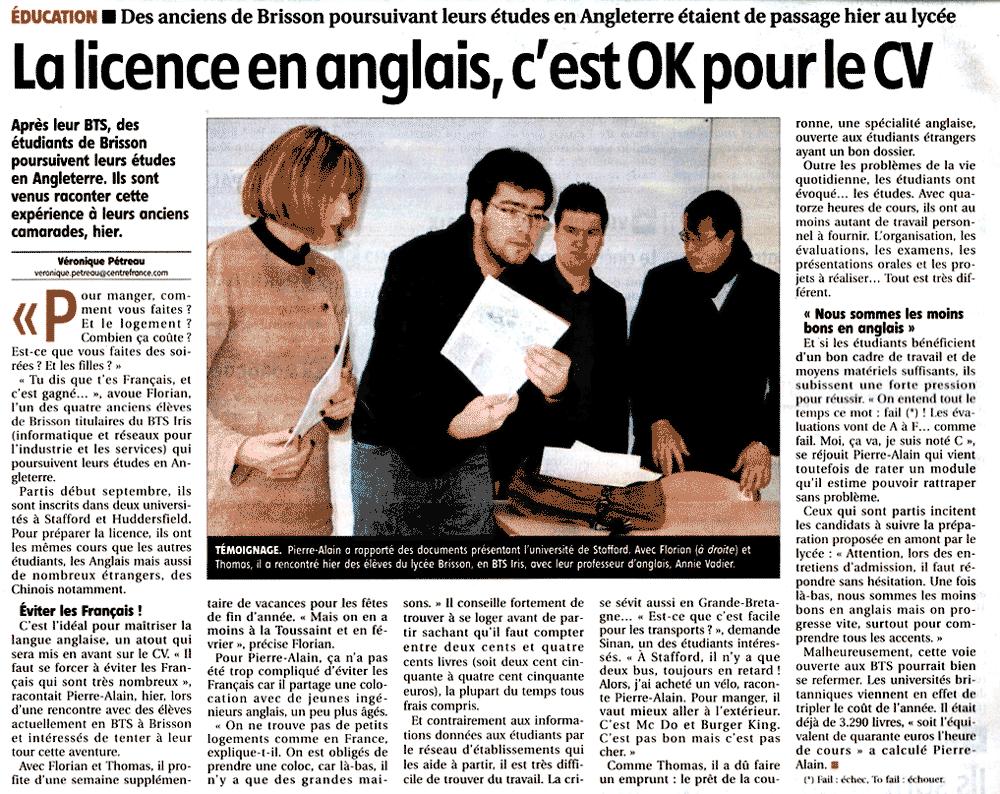 Licence Anglais, une bonne idée ?