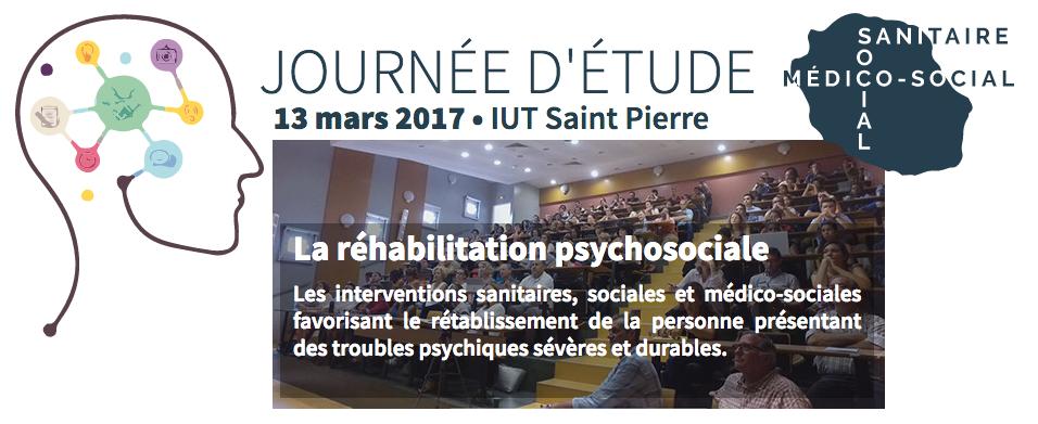 Journée d'étude sur la réhabilitation psychosociale
