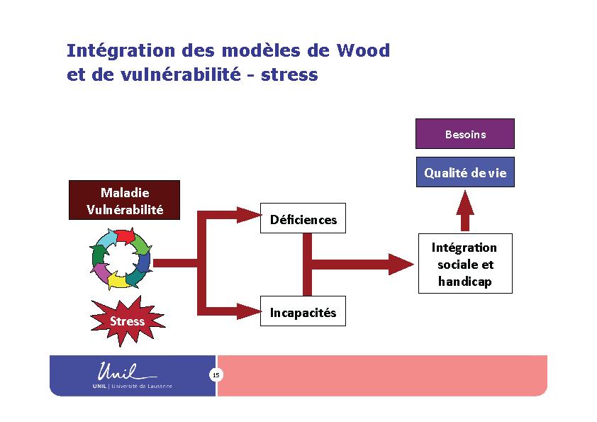 Intégration des modèles de Wood et de vulnérabilité - stress