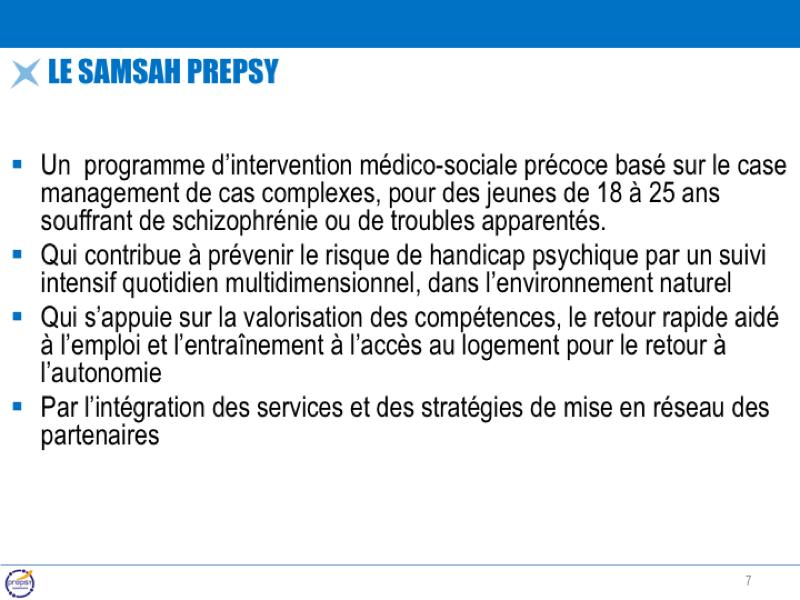 Le SAMSAH PREPSY
