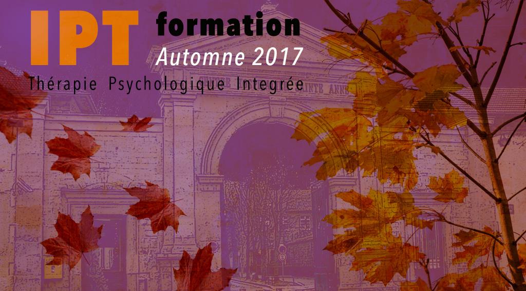 Formation IPT (Thérapie Psychologique Integrée) - Automne 2017