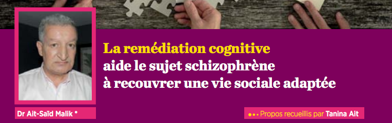 Sante Mag La remédiation Cognitive N°62 Laurent Lecardeur