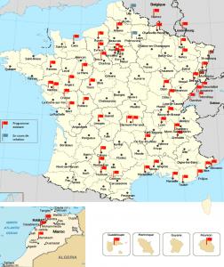 Le réseau du programme Profamille dans les pays francophones