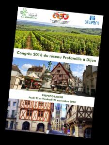 programme congrès Profamille novembre 2018 - Dijon