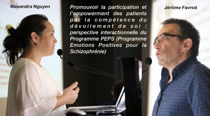 Dévoilement de soi: Participation et empowerment – J. Favrod & A. Nguyen