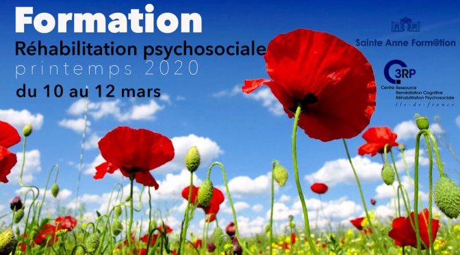 Réhabilitation psychosociale - Formation printemps 2020