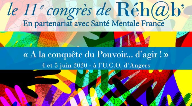 Congrès Réh@b 2020 -Appel à communication